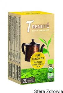 HERBATA CZARNA ENGLISH BREAKFAST BIO 30 g (1,5 g x 20 szt.) - TRENUTE