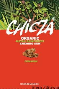GUMA DO ŻUCIA CYNAMON BIO 30 g - CHICZA